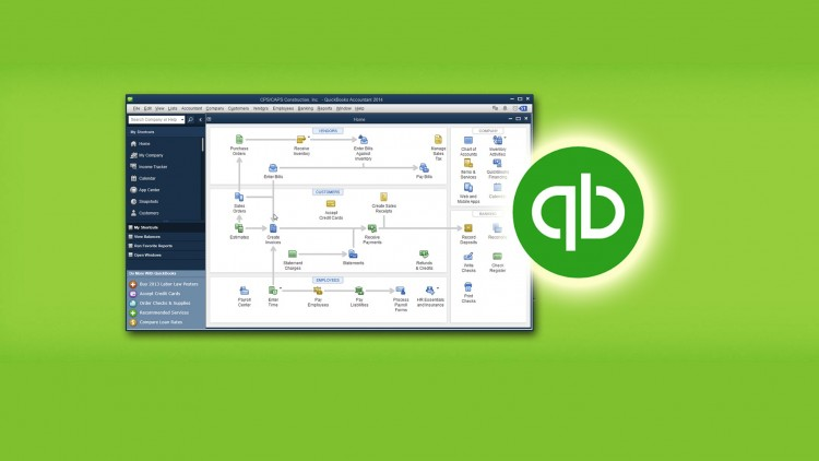 Trying to learn Quickbooks from scratch at home : Accounting