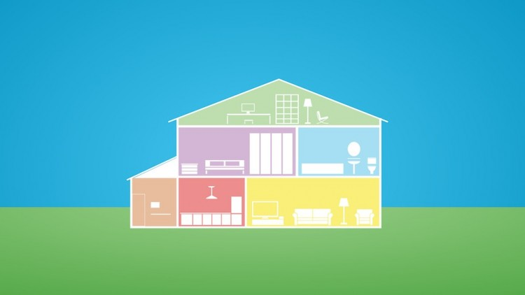 100 off learn step by step how to build a smart home for Build a home online