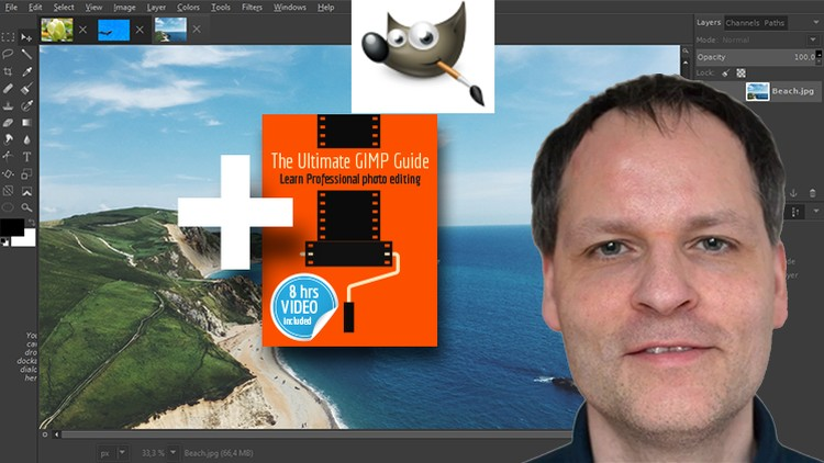 Udemy 100% Off]-The Ultimate GIMP 2 8 Guide  Book included as sold