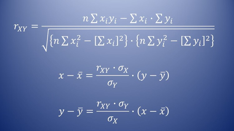 Udemy 100% Off]-Linear Correlation and Regression Analysis