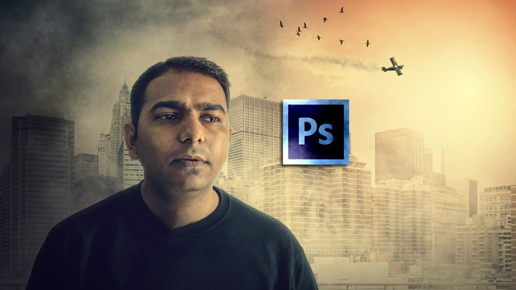 Udemy 100% Off]-Become Expert in Photoshop- City on Attack